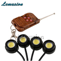 4X Car LED Strobe Eagle Eye with Wireless Remote For Mercedes W211 W203 W204 W210 W205 W212 W220 AMG For Cadillac CTS SRX ATS