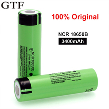GTF 3.7V 18650 Battery NCR18650B Li-ion Rechargeable Battery 3400Mah 3.7V Cells For Panasonic Vape E-cigarette Flashlight Torch