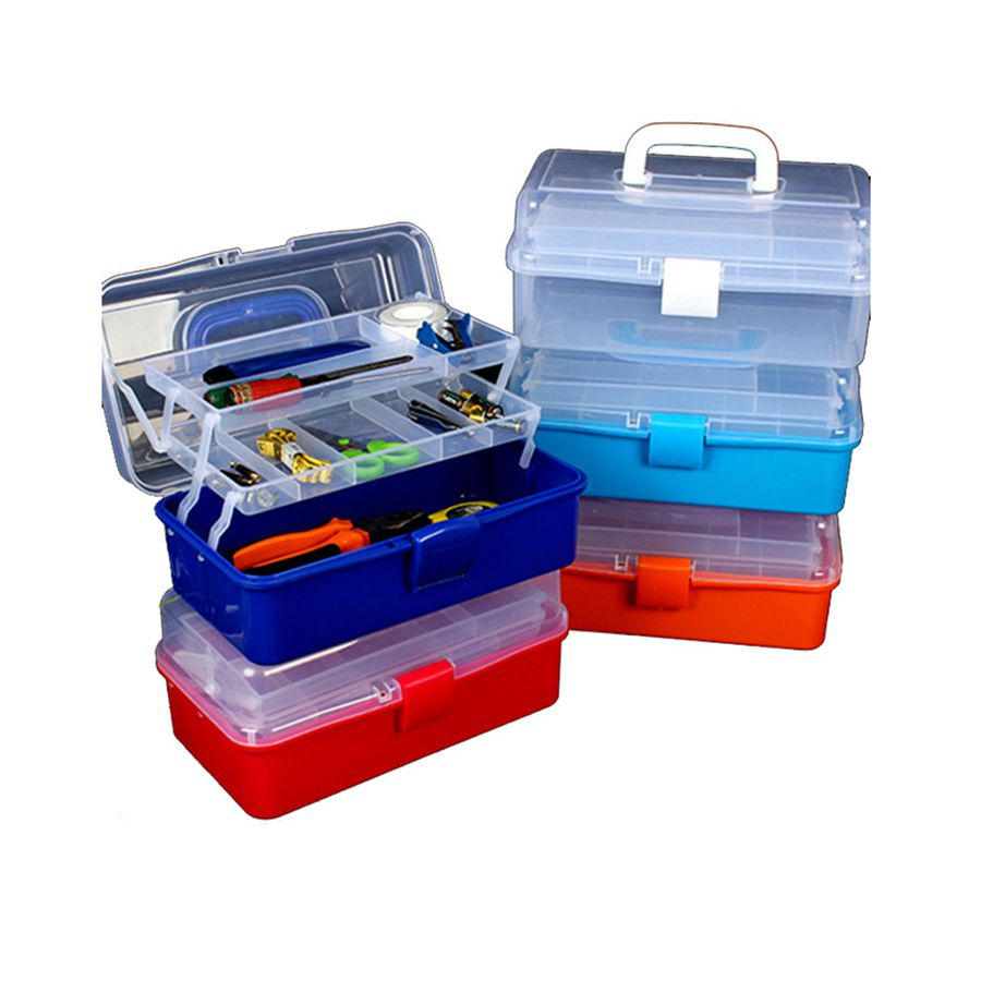 3 Layer Multi-function Storage Box Environment-friendly And Healthy Materials Portable Medical Kit High Quality Tool Storage Box
