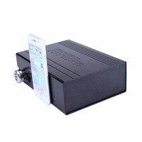 Black Car Safe Box Password Lock Valuables Jewelry Solid Steel Security Key Cash Storage Boxes Aluminum