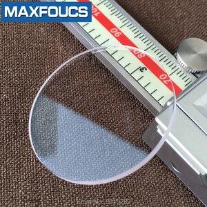 Image 5 - Szkiełko zegarowe szafirowe szkło AR niebieska powłoka płaska grubość 1.2mm średnica 26 mm do 39.5mm ,2 sztuka darmowa wysyłka