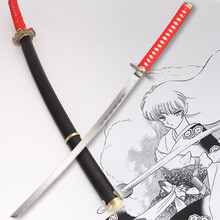 anime Inuyasha sword cosplay katana fashion collection All handmade katana Decorative Collectibles(China)