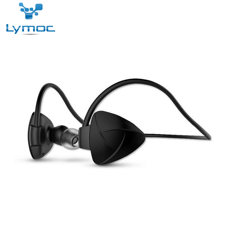 Lymoc Sport Neckband Earphone Running Wireless Headset Stere NFC Music Waterproof Handsfree Headphone For iPhone XiaoMi Samsung lymoc wireless sport headset running bluetooth earphone ipx4 waterproof stereo headphones handsfree for iphone xiaomi samsung