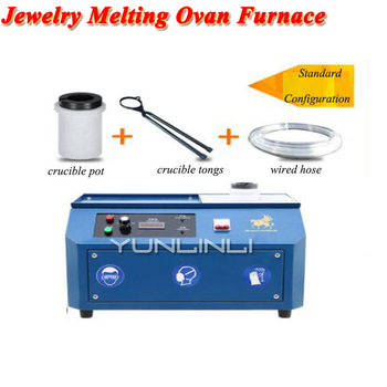 цена Jewelry Melting Ovan Furnace 220V Water Cooling Induction Melting Furnace For Gold,k-gold,Silver,Cop,Goldsmith Casting BF-H1 онлайн в 2017 году