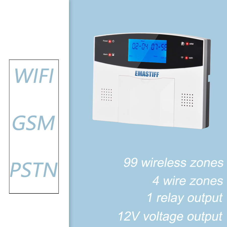 Image 3 - WI FI-in Комплекты для системы сигнализации from Безопасность и защита