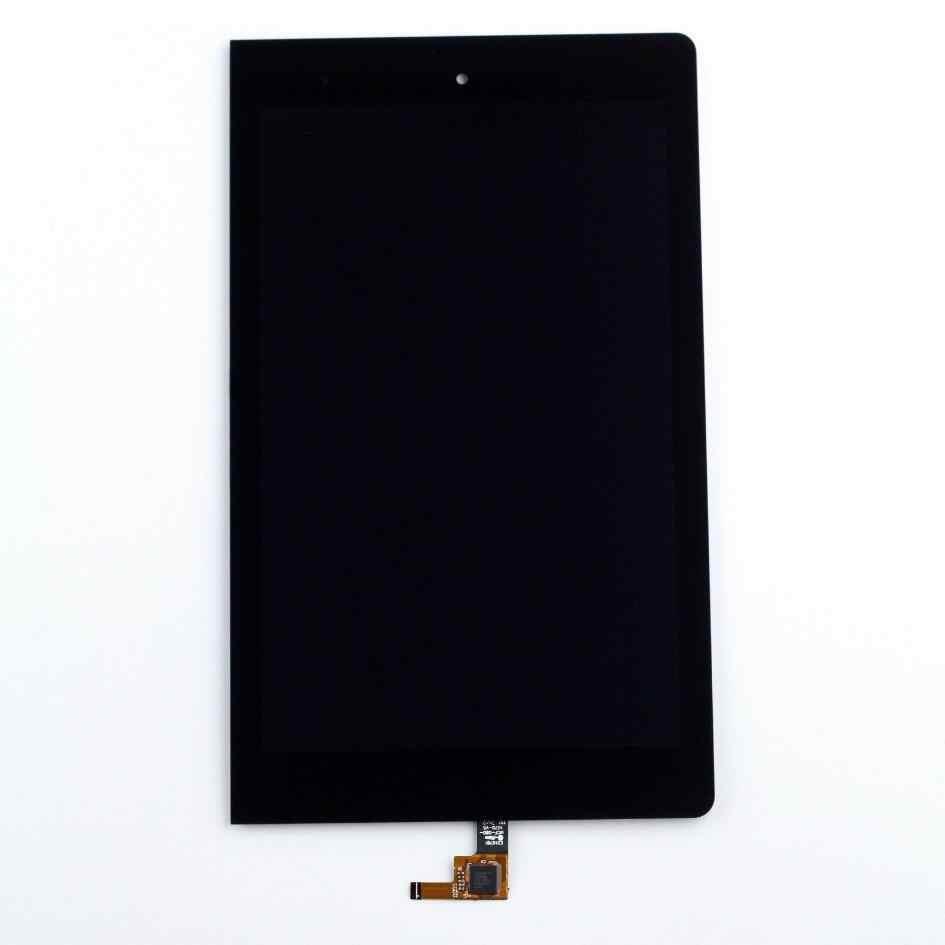 Para Lenovo Yoga Tablet 8 B6000 B6000F 60043 60044 digitalizador de pantalla táctil Sensor de vidrio + pantalla LCD montaje del Panel con marco