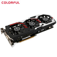 Original Colorful IGame1060 U 6GD5 Top 192bit GDDR5 Graphics Card 6GB GDDRS GeForce GTX 1060 With