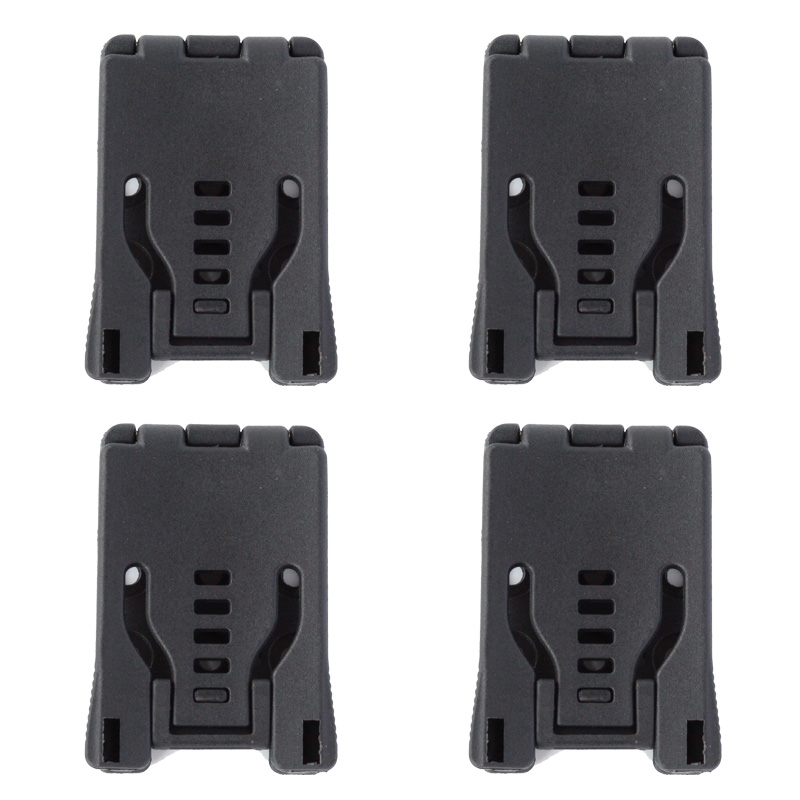 4pcs/lot Knife Parts Belt Loops Large Tek Lok Belt Clip For Knife Kydex Sheath Holster With Screw