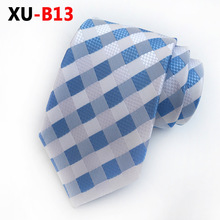 Gentleman Necktie The Bright Breezy Gingham of Our Handmade Silk Mens Woven Wedding Party