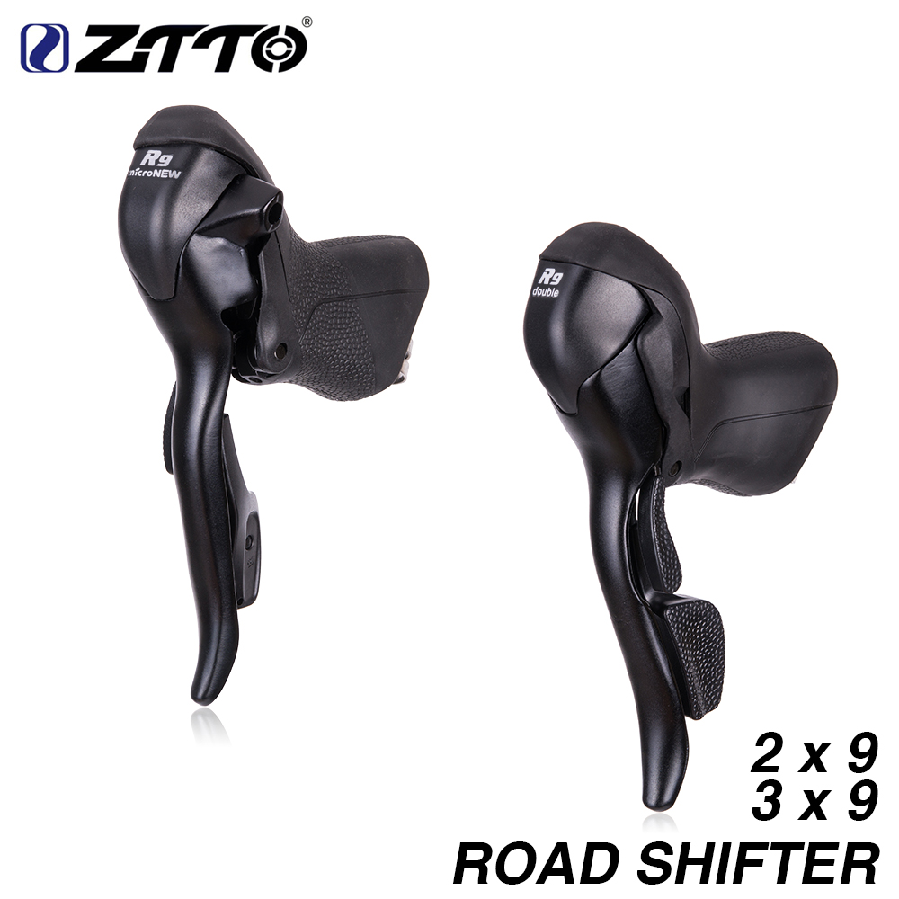 ZTTO MICRONEW Road Bike 2 9 3 9 Shifter Set Double 9 Speed 9s 18s 27s
