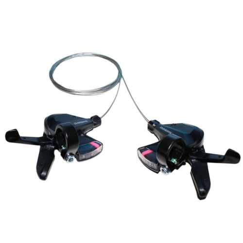 SHIMANO Altus SL-M310 3s 8s 24 Speed Shifter Trigger Set Rapidfire Plus w/Shifter Cable