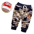 Nuevo 2017 Pantalones de Bebé de Invierno Moda Cálida Lana Pantalones de Bebé Pantalones de Los Niños ocasionales Lindo Espesar Niños Niños Pantalones De Chica 0-2 T