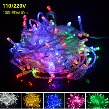 Holiay строки гибкая строка год полосы рождество rgb освещение ac светодиодов