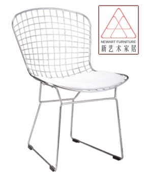 Dining Chairs Wrought Iron Metal Chair Ikea Minimalist Fashion Creative Modern European Style Lounge Designer Outlets In Shampoo From