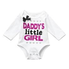 Baby Girl Cute Long Sleeve Bodysuit