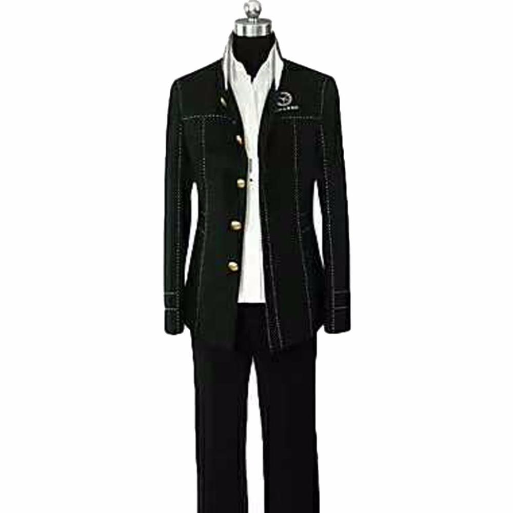 2018 Shin Megami Tensei Persona 4 P4 Cosplay School Boy Uniform Costume Yu Narukami Jacket+Pant+Shirt