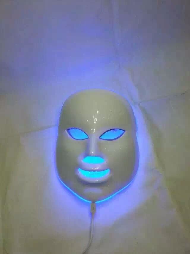 Fast Shipping Photon LED Facial Mask Skin PDT mask Rejuvenation Beauty Therapy 7 Colors Light for home use beauty salon 7 colors light photon electric led facial mask skin pdt skin rejuvenation anti acne wrinkle removal therapy beauty salon