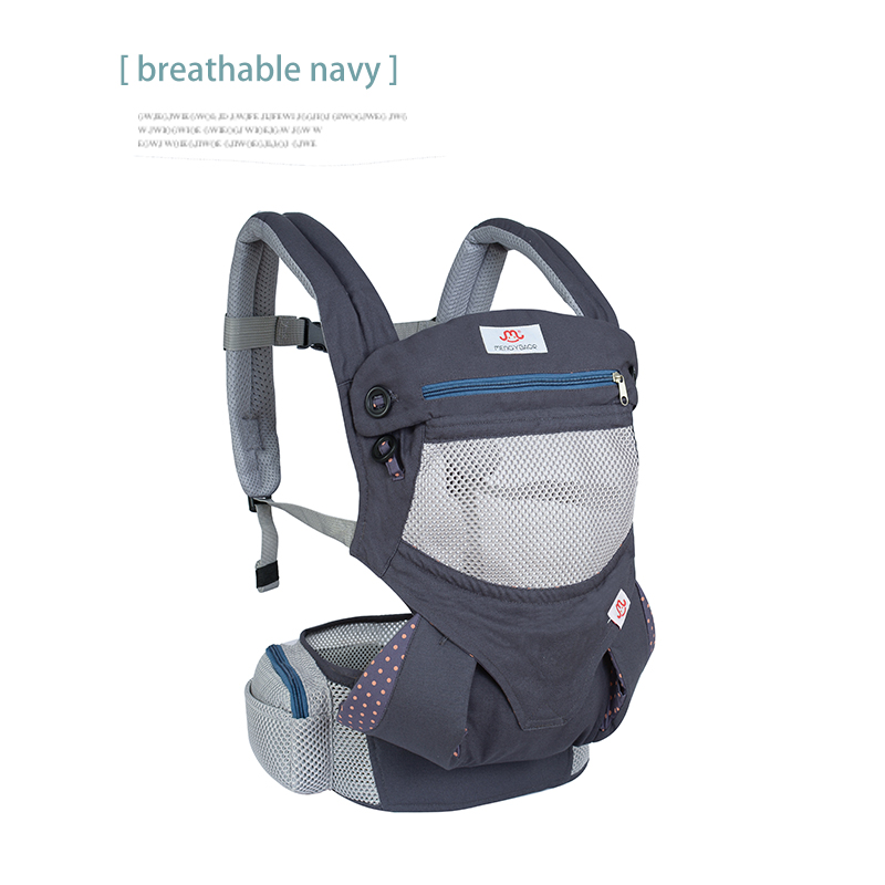 Ergonomic Baby Carrier sling Breathable baby kangaroo hipseat backpacks & carriers Multifunction backpack sling baby carrier ergonomic re hold infant backpack carriers for baby care toddler sling kangaroo baby suspenders