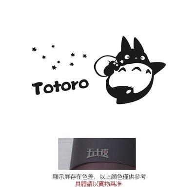 Totoro japanese cartoon wall sticker anime my neighbor totoro vinyl wall decal kids room home decorative