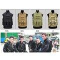 Quatro de alta qualidade Hong Kong Flying Tigers fãs Do Exército CS campo colete tático colete à prova de balas reais equipamentos de proteção