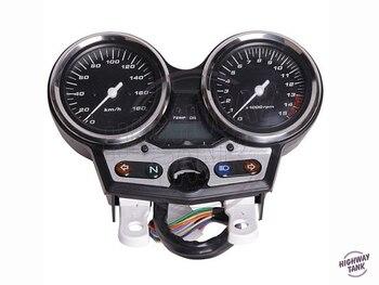 Tacómetro para motocicleta de 180 km/h, velocímetro, medidor de velocidad de motocicleta, medidor de kilometraje, funda para Honda CB400 V-TEC NC39 1999 2000 2001