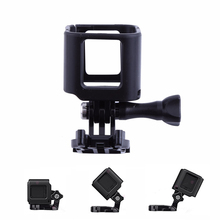 New arrival  Gopro Hero 4 Session Low Angle Frame Case Mount Protective Shell Cover for GoPro