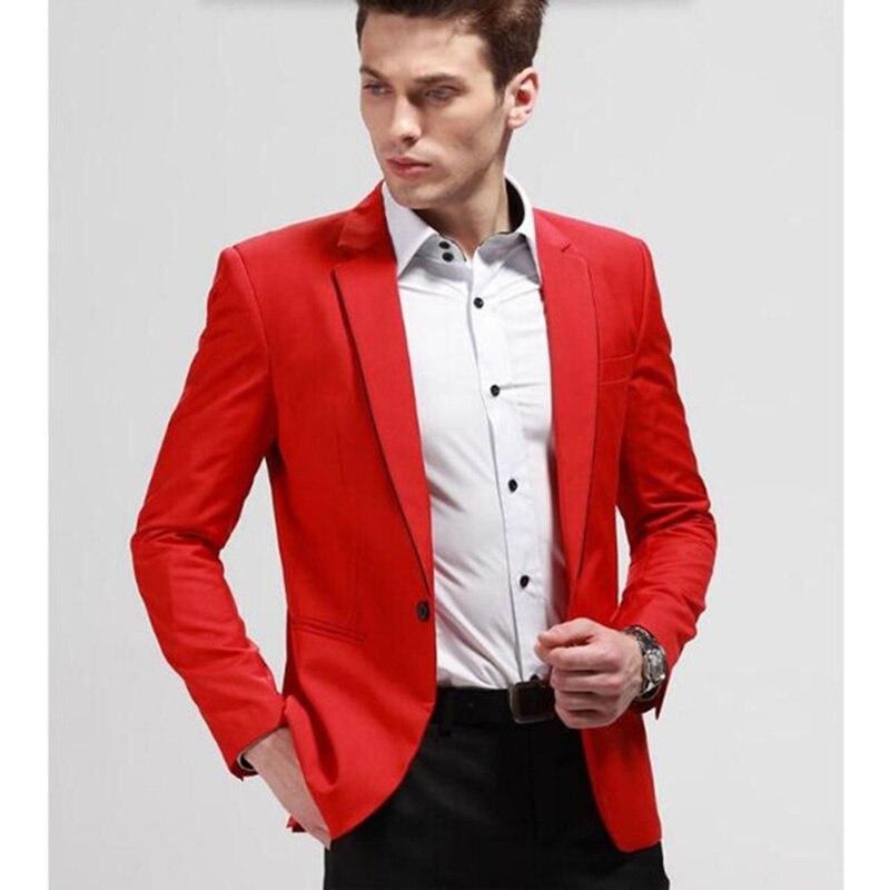 Blazer Costumes The Terno Nouveau veste Fit Rouge Image Made Avec Partie Costume Pantalon Mode Mens De Slim Pantalon 2018 Un Mariage custom As Hommes D'honneur Garçons Smokings Bal qSftfEx
