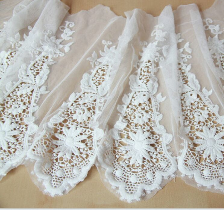 White Bridal Lace Fabric Wedding Dress Fabric,Wedding Gown Making ...