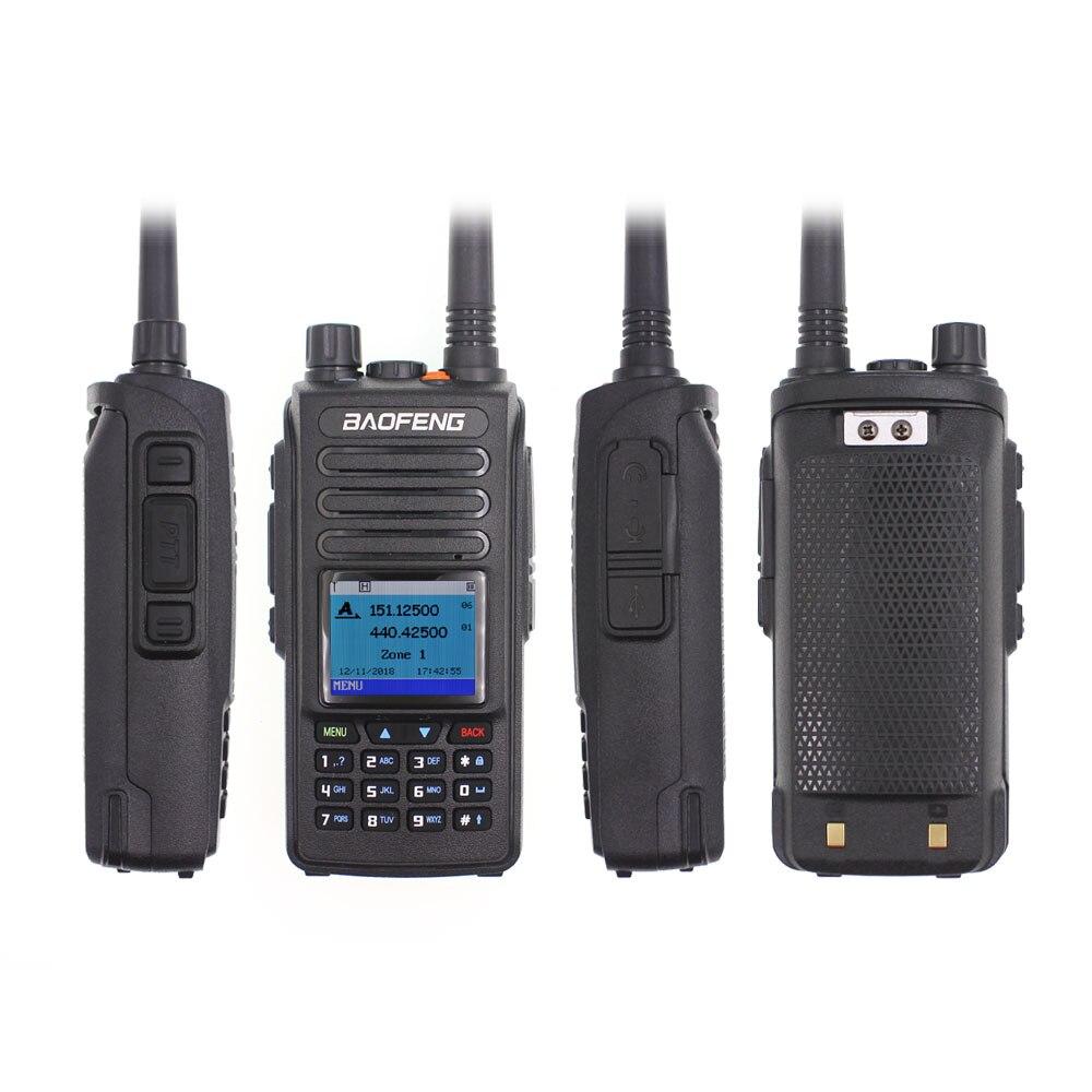 Baofeng Digital Terminal Radio Analog & Digital Walkie Talkie DM-1702 Tier 1+2 Dual Time Slot Dual Band DMR Ham Two Way Radio