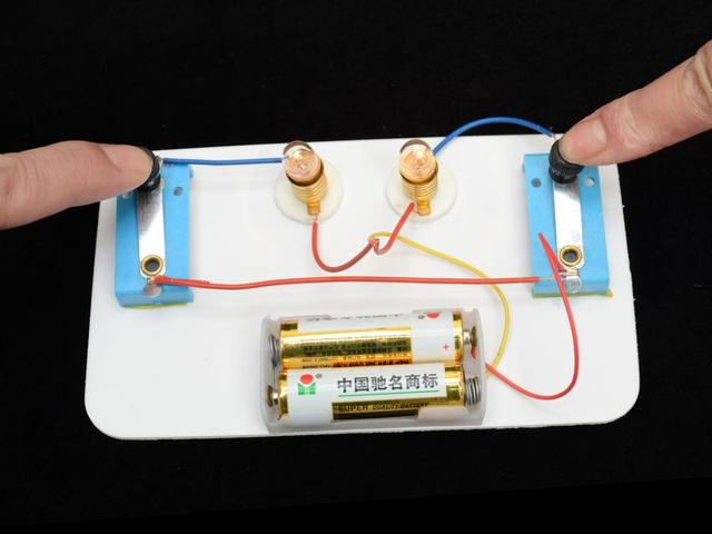 materials science and technology small production series andmaterials science and technology small production series and parallel circuits assembled model diy model material gizmos