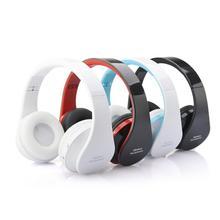Mosunx Calidad Superior Plegable Bluetooth Wireless Stereo Headset Auriculares Manos Libres Micrófono Auricular Diadema con Micrófono DEC16