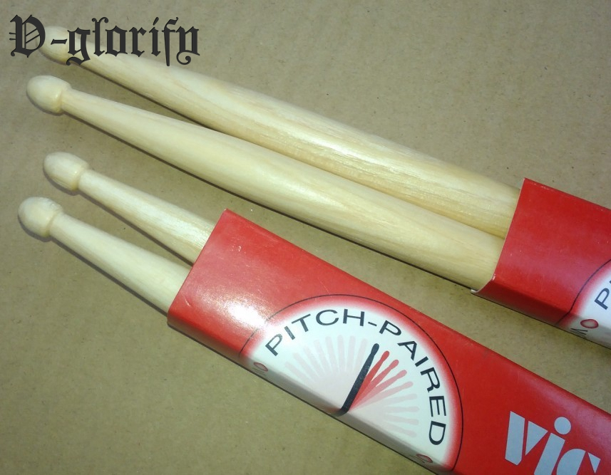7A Chinese hicktory wood drum stick good quality 12 pair