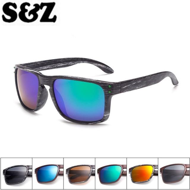 cb3f5ebcd حار بيع النظارات الشمسية الرجال الرياضة النظارات outdoors عاكس نظارات  colorfulr مرآة طلاء gafas دي سول