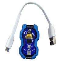 Novo brinquedo Criativo telefone AR aérea modelo de telefone móvel do carro de corrida jogo de esportes azul