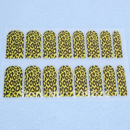 High quality Golden Color Nail foils nail sticker nail wraps Free Shipping