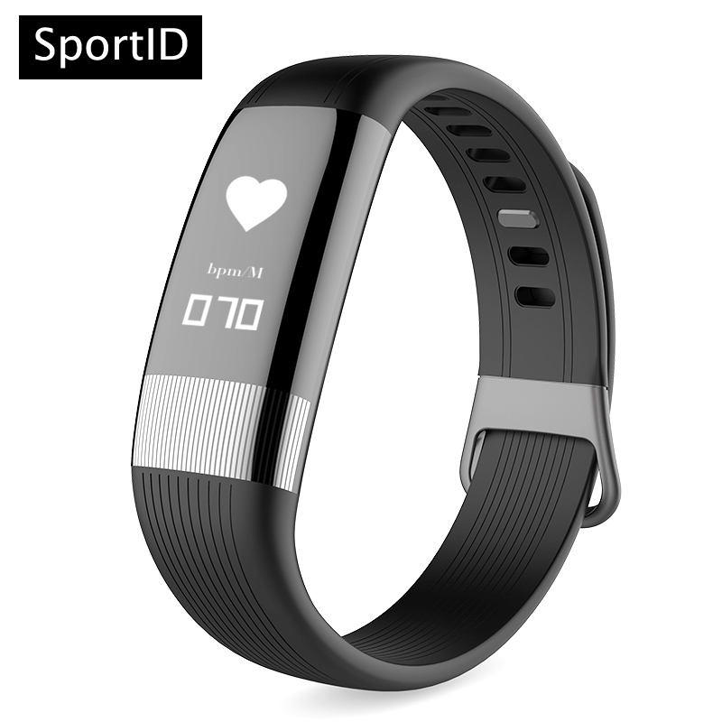 Sports Fitness Tracker Band Smart Bracelet E18 Heart Rate Monitor Wristband ECG Blood Pressure Pulse Wristwatch for Android IOS