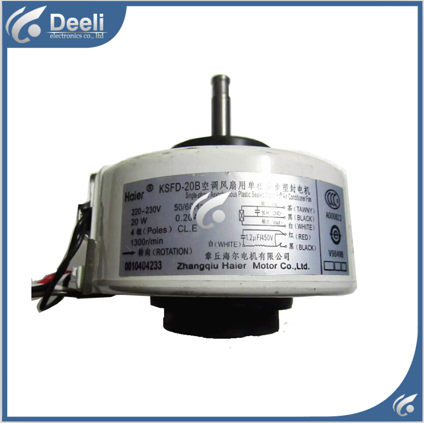 95% new good working for Air conditioner Fan motor machine motor KSFD-20B 20W 0010404233 95% new good working mary poppins opens the door