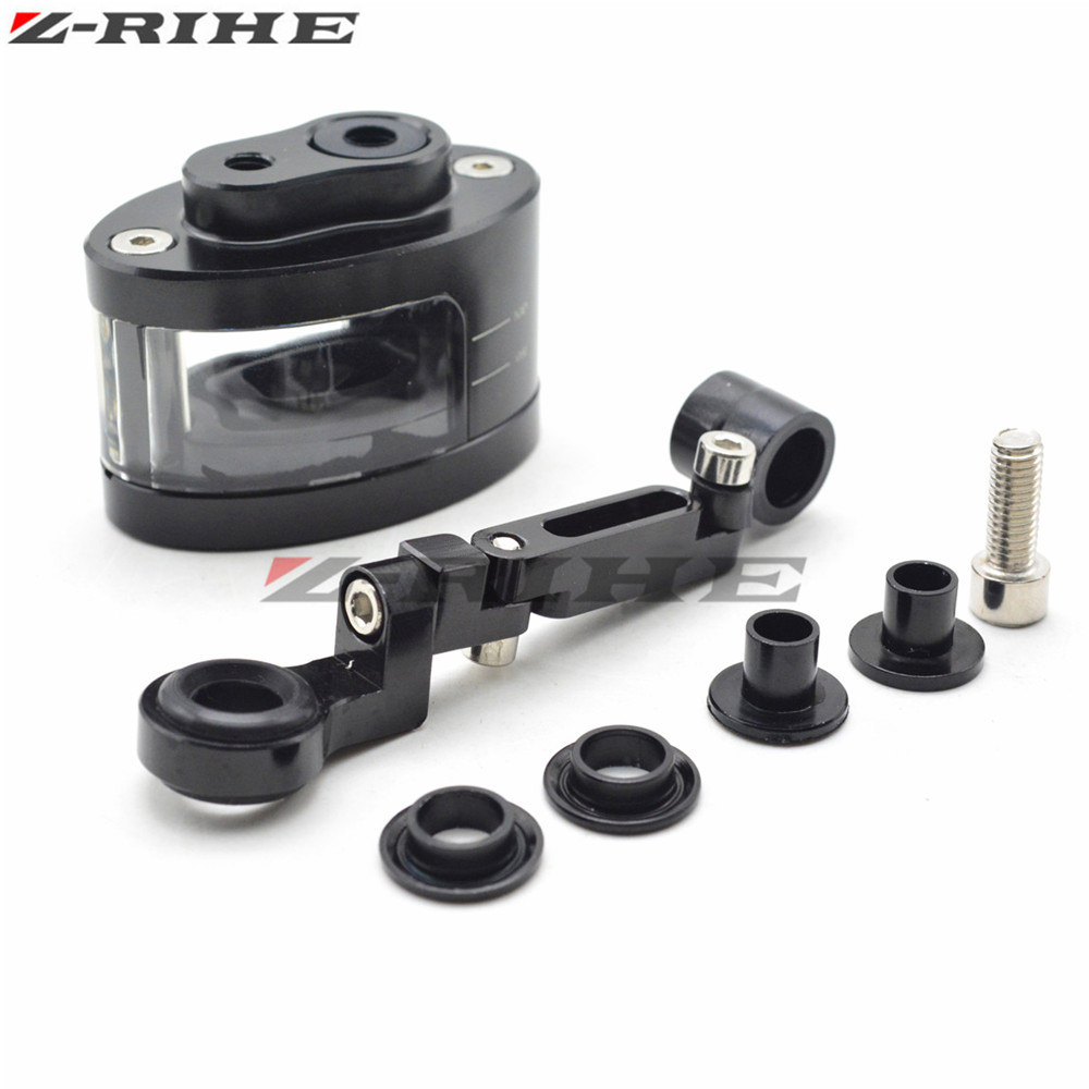 Universal Motorcycle Motorbike Brake Clutch Tank Cylinder Fluid Oil Reservoir Cup For Kawasaki Ninja 636 ZX-6R Z 750 800 1000 motorcycle brake fluid reservoir clutch tank oil fluid cup for yamaha yzf r25 r15 r6 r125 kawasaki z750 z800 fz8 fz1 fz6r mt09