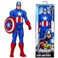 """100% Nuevo En Caja Serie Héroe Capitán América Marvel Los Vengadores 30 CM 12 """"Figuras de Acción T-022"""