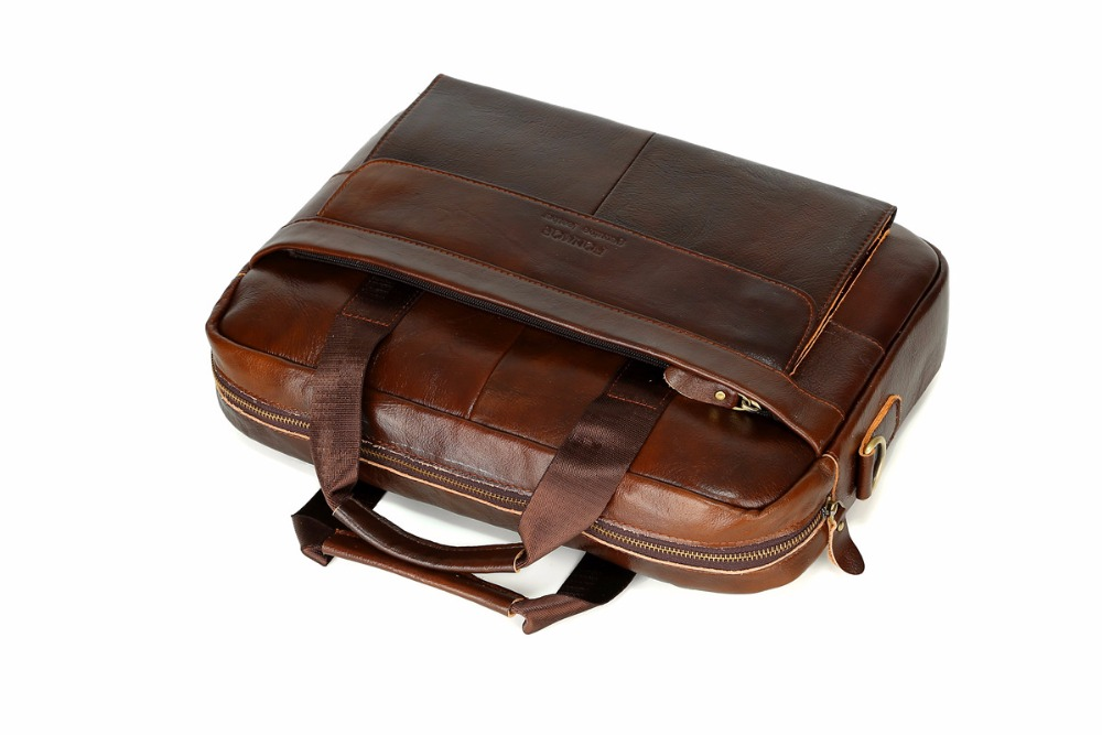 Vintage laptop briefcase protest