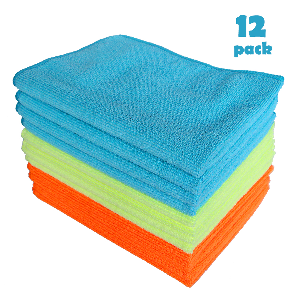 12Pcs Microfiber Cleaning Auto Car Detailing Wash Dry Clean Polish Cloth Duster Kitchen Dirt Cleaning Home Cleaning Tools-in Sponges, Cloths & Brushes from Automobiles & Motorcycles on Aliexpress.com | Alibaba Group