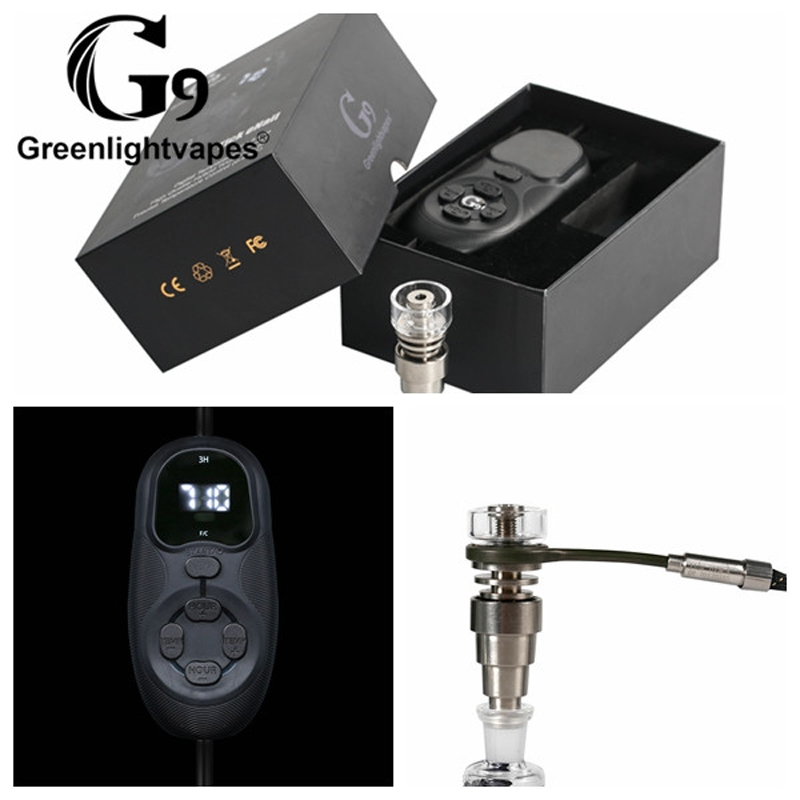 G9 tick enail 10mm 16mm 20mm heating coil temperature controller quartz banger enail with titanium dab tool for wax concentrateG9 tick enail 10mm 16mm 20mm heating coil temperature controller quartz banger enail with titanium dab tool for wax concentrate
