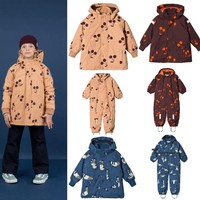 2019 AUTUMN WINTER KIDS CHEERY DOWN COAT ROMPERS GIRLS CLOTHING BOYS CLOTHING SNOW SUITS