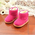 Baby Boy Winter Snow Boots Brand Kids Baby Ugly Boots Shoes Children Geanuine Leather Australia Shoes 1-4 Age 2016
