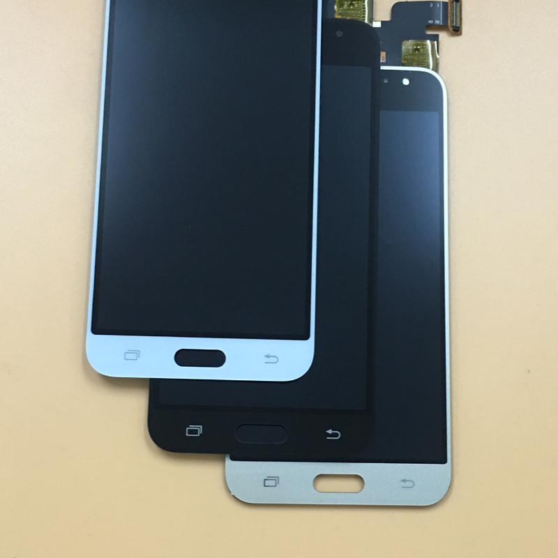 Per Samsung Galaxy SM j320 J320A J320F J320M J3 J320FN 2016 Touch Screen Digitizer Sensore di Vetro + Display LCD Monitor montaggio