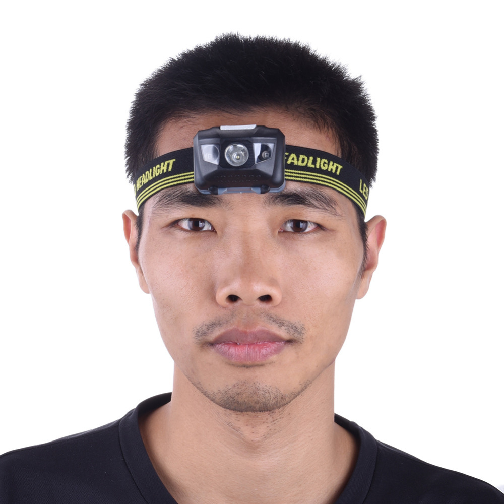Outdoor 4 Mode Headlamp Ultra-light Red/white light headlight - Camping and Hiking