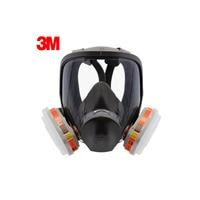 3M 6700 6009 Full Facepiece Reusable Respirator Filter Protection Masks Respiratory Mercury Organic Vapor Or Chlorine