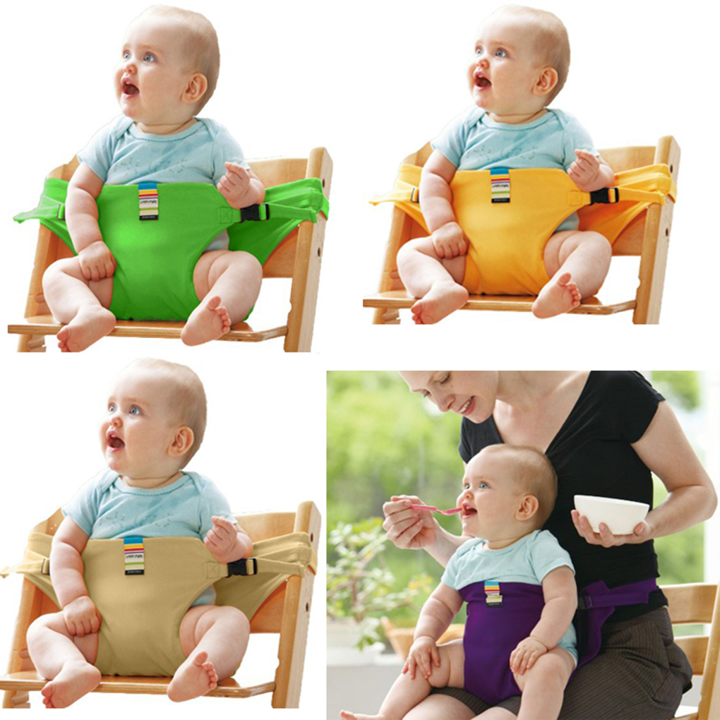 Baby Portable Seat Safety Belt Folding Dining Lunch Feeding Baby Chair Belts Infant Seat High Chair Harness Carrier For Feeding dining chair child baby the design concept of high landscape equipp with feeding bottle water cup holder infant playing chair
