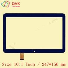 Черный 10,1 дюймов для DIGMA Optima 10,4 3g TT1004PG емкостный сенсорный экран панель Ремонт Замена панель P/N YLD-CEGA566-FPC-A0