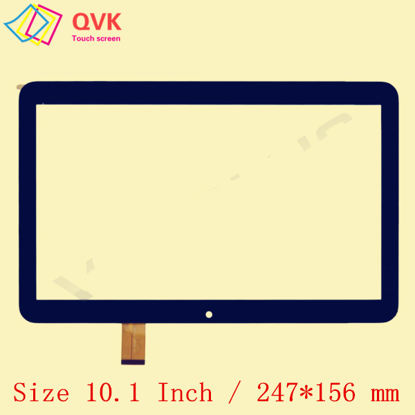 Black 10.1 Inch For DIGMA Optima 10.4 3G TT1004PG Capacitive Touch Screen Panel Repair Replacement Panel P/N YLD-CEGA566-FPC-A0